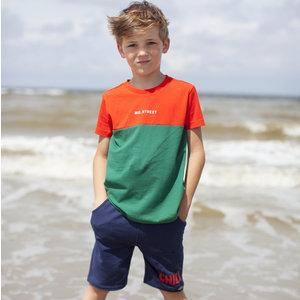 MOODSTREET jongens t-shirt sporty orange