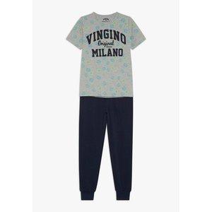 VINGINO jongens pyjama grey mele wael