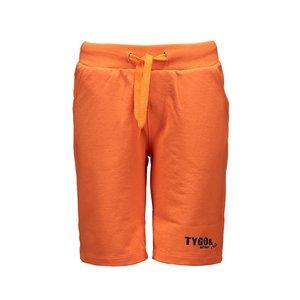 TYGO & VITO jongens korte broek shocking orange