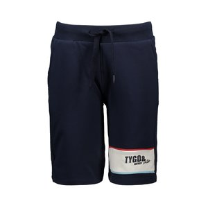 TYGO & VITO jongens korte broek navy sidetapes