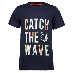 TYGO & VITO jongens t-shirt navy catch the wave