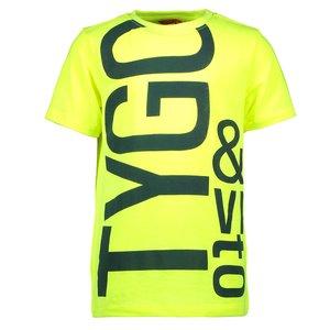TYGO & VITO jongens t-shirt safety yellow