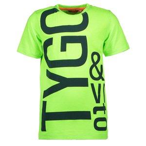 TYGO & VITO jongens t-shirt green gecko