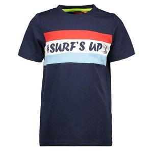 TYGO & VITO jongens t-shirt navy cut&sewn