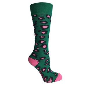 B.NOSY meisjes sokken jade leopard