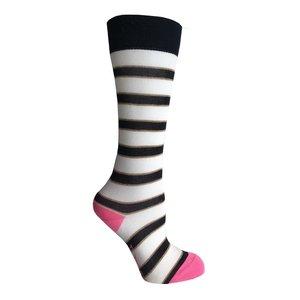 B.NOSY meisjes sokken oxford stripe