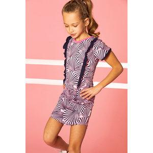 B.NOSY meisjes jurk sorbet pink shell
