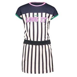 B.NOSY meisjes jurk oxford stripe