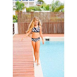B.NOSY B.NOSY meisjes bikini zebra