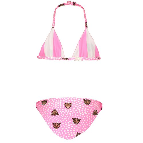 B.NOSY B.NOSY meisjes bikini tiger dots reversible