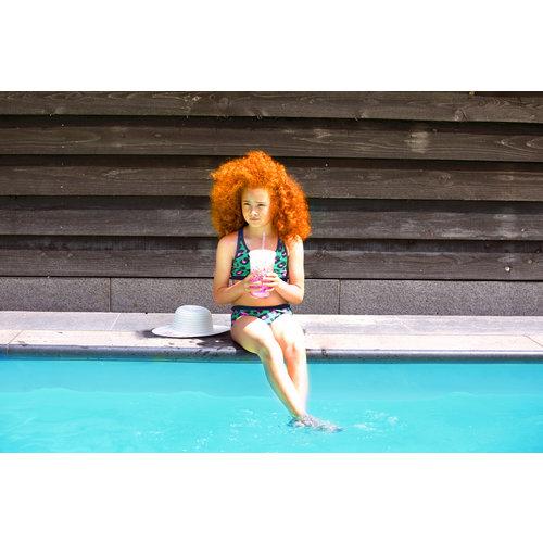 B.NOSY B.NOSY meisjes bikini jade leopard