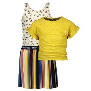 LIKE FLO meisjes jurk citrus 2 delig