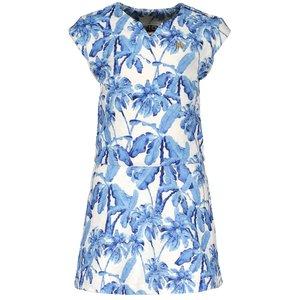 LIKE FLO meisjes jurk blue palm
