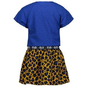 LIKE FLO Like Flo meisjes jurk cobalt