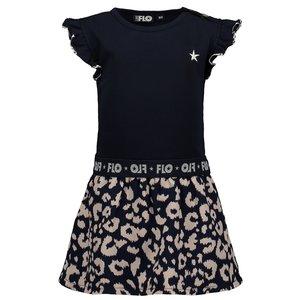 LIKE FLO meisjes jurk navy