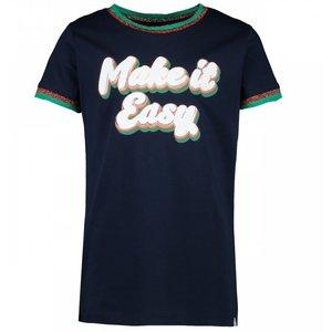 CARS JEANS meisjes t-shirt navy reynosa