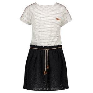 Nono meisjes jurk nearly black meryla