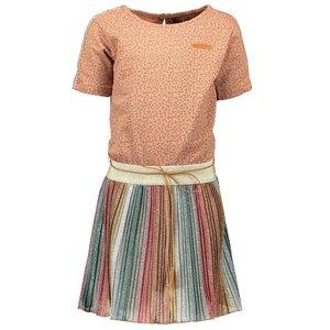 Nono meisjes jurk soft copper monia