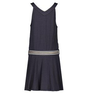 Nono Nono meisjes jurk nearly black memea