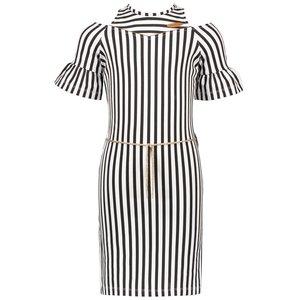 Nono meisjes jurk nearly black minol
