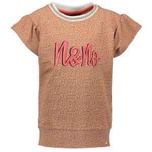 Nono meisjes t-shirt hazelnut kambia