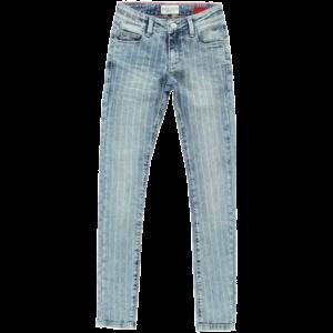 CARS JEANS meisjes jeans broek stone wash blue used amalure