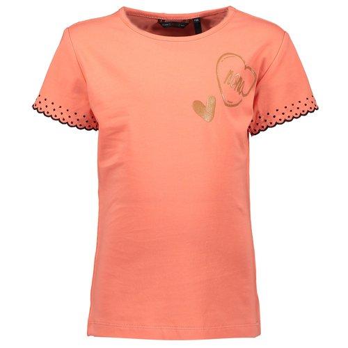 Nono Nono meisjes t-shirt coral kaya