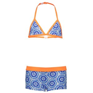 JUST BEACH meisjes bikini batik blue