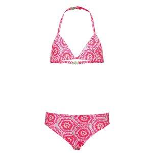 JUST BEACH meisjes bikini batik pink