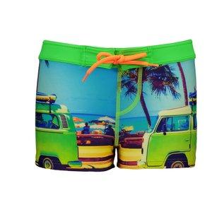 JUST BEACH jongens zwembroek bus