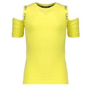 NOBELL meisjes t-shirt light lemon keddy