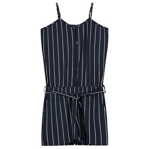 LEVV meisjes jumpsuit dark navy white stripe feliza