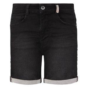 RETOUR DENIM DE LUXE jongens korte broek black denim loek