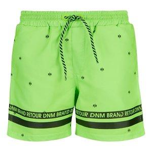 RETOUR DENIM DE LUXE jongens zwembroek neon green zeb