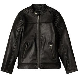 NAME IT jongens jas black