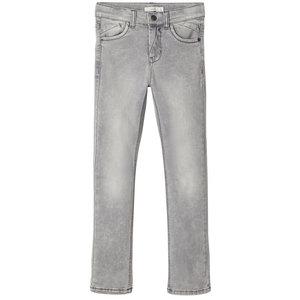 NAME IT jongens broek grey denim