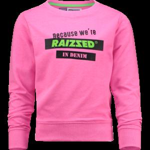 RAIZZED meisjes trui neon pink dakota