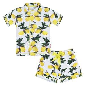 CLAESEN'S meisjes pyjama set lemon