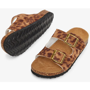 NAME IT meisjes slippers bone brown