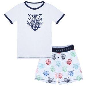 CLAESEN'S jongens pyjama set tiger head