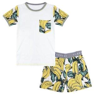 CLAESEN'S CLAESEN'S jongens pyjama set banana