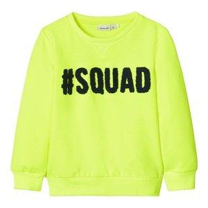 NAME IT meisjes trui safety yellow