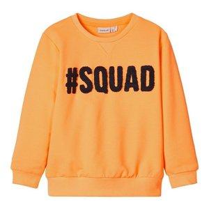 NAME IT meisjes trui orange pop