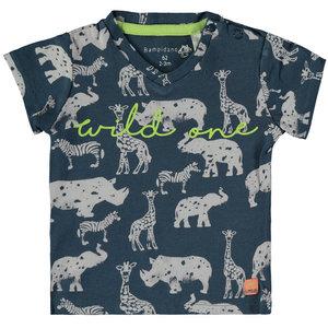 BAMPIDANO jongens t-shirt bluep
