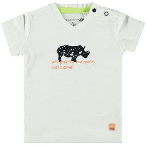 BAMPIDANO jongens t-shirt white