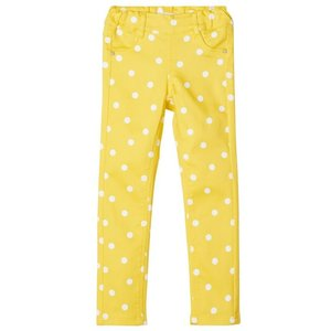 NAME IT meisjes legging aspen gold aop with bright white dots