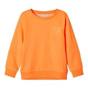NAME IT jongens longsleeve orange pop