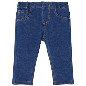 NAME IT meisjes broek medium blue denim