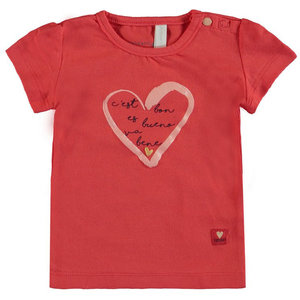 BAMPIDANO meisjes t-shirt red