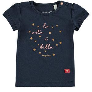 BAMPIDANO meisjes t-shirt navy
